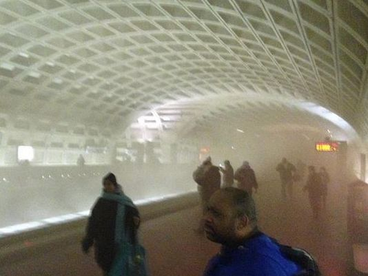 Fire on the Metro